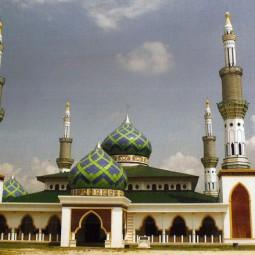 masjid almuttaqin pelalawan