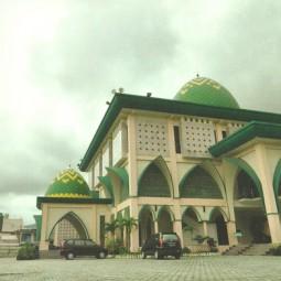masjid an nuur depan