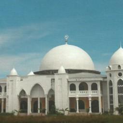 Masjid khaera ummah depan
