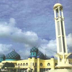 masjid agung al karomah depan