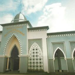 masjid agung baiturahman depan