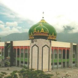 masjid agung darussalam sulteng
