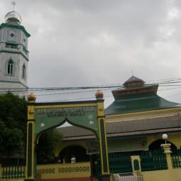 masjid gang bengkok medan