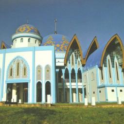 masjid nurussalam depan